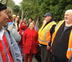 ELP learners learn about transport in NZ