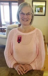 Sue with Queens Service Medal