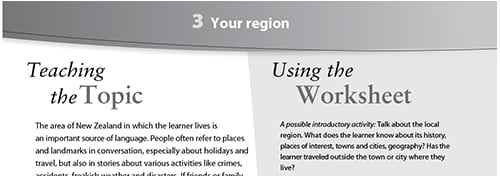Your region