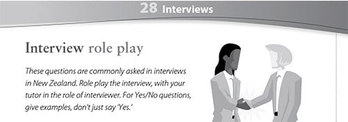 Interviews worksheet
