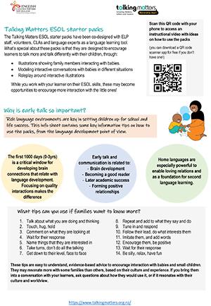 Talking Matters - Language Guide