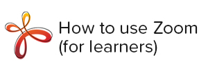 How to use Zoom (for learners) worksheet