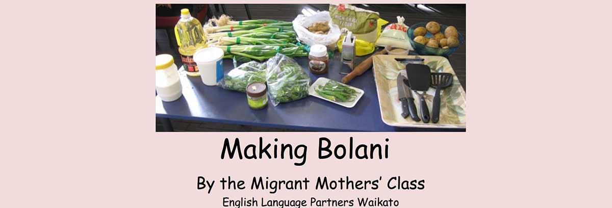 Making Bolani