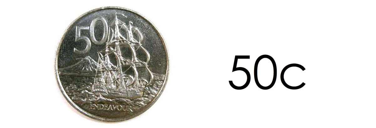 New Zealand money learning resource