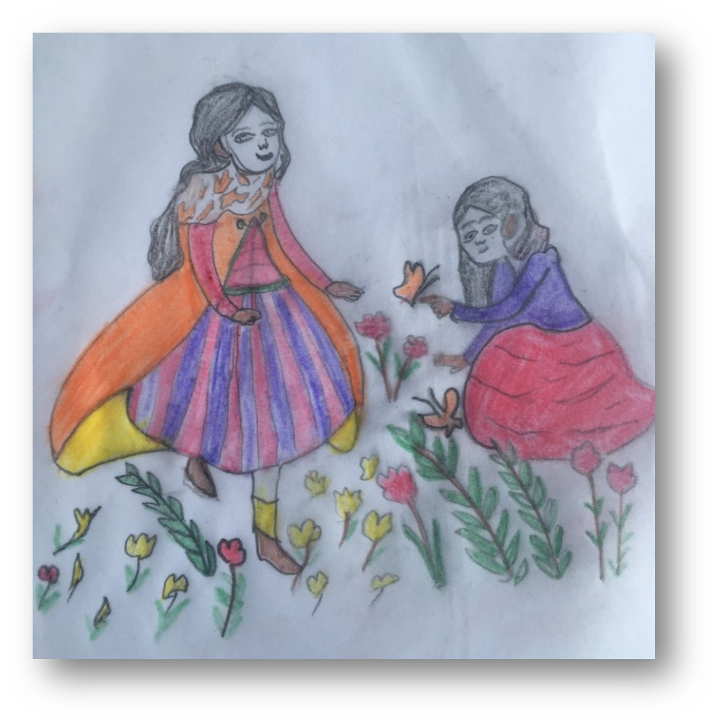 picture drawn by English Language Partners learner