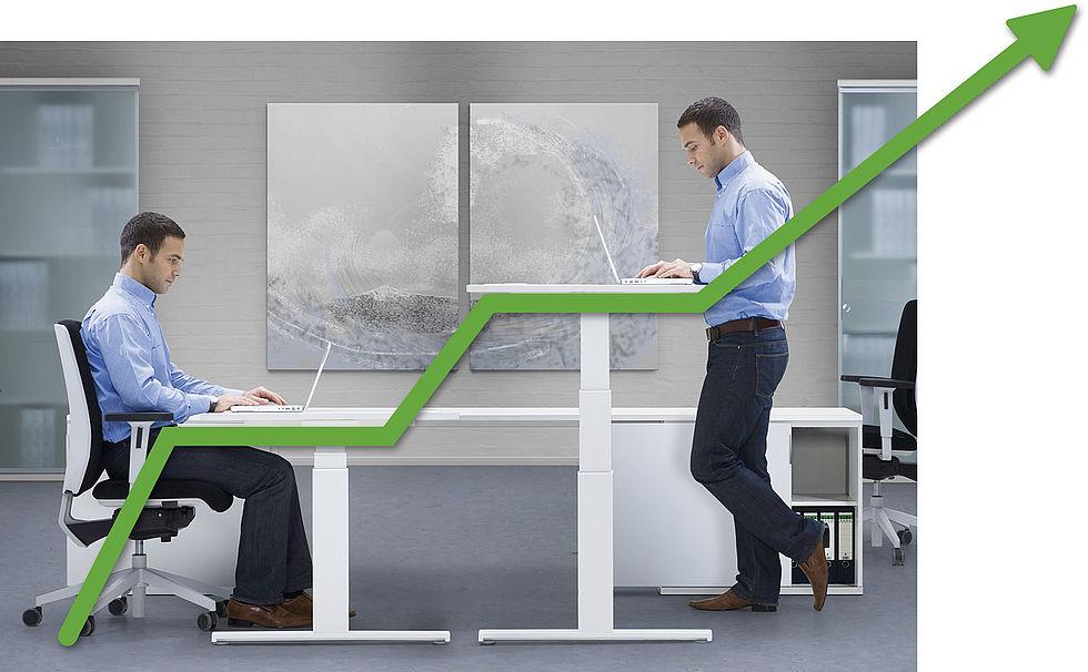 Praxis Gunsch - Muckenthaler Sitzen - Stehen