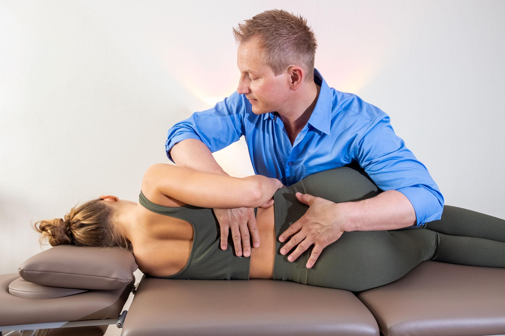 Praxis Gunsch - Therapieangebot Osteopathie