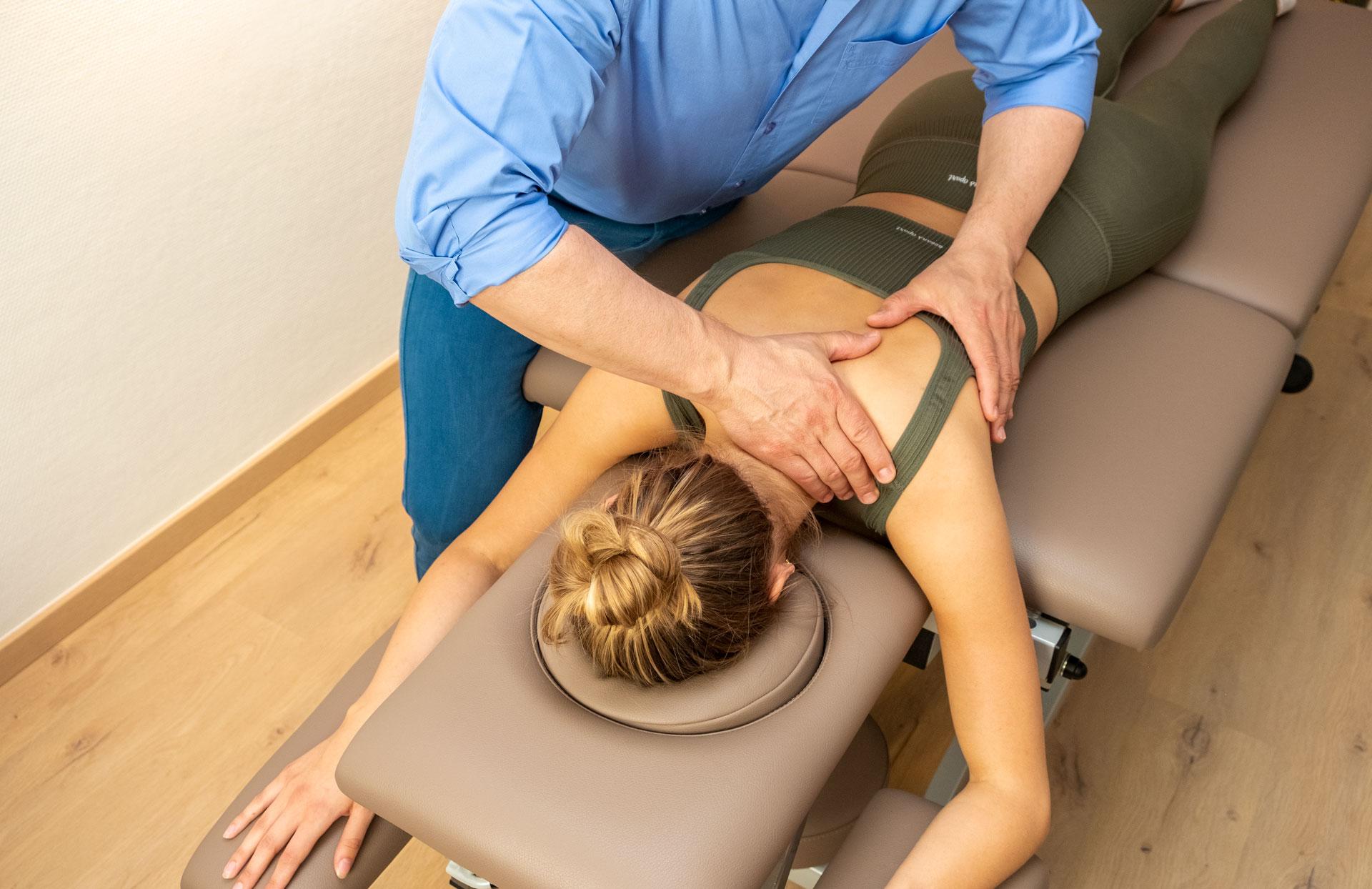 Praxis Gunsch - Therapieangebot Physiotherapie