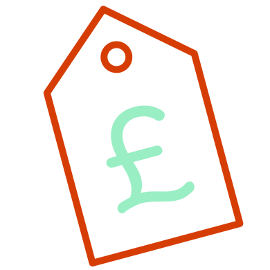 Illustration of a price tag