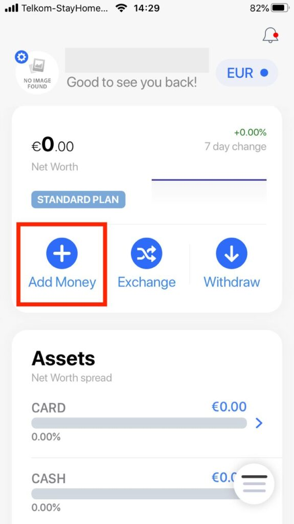 Add Money with the Tapp APP