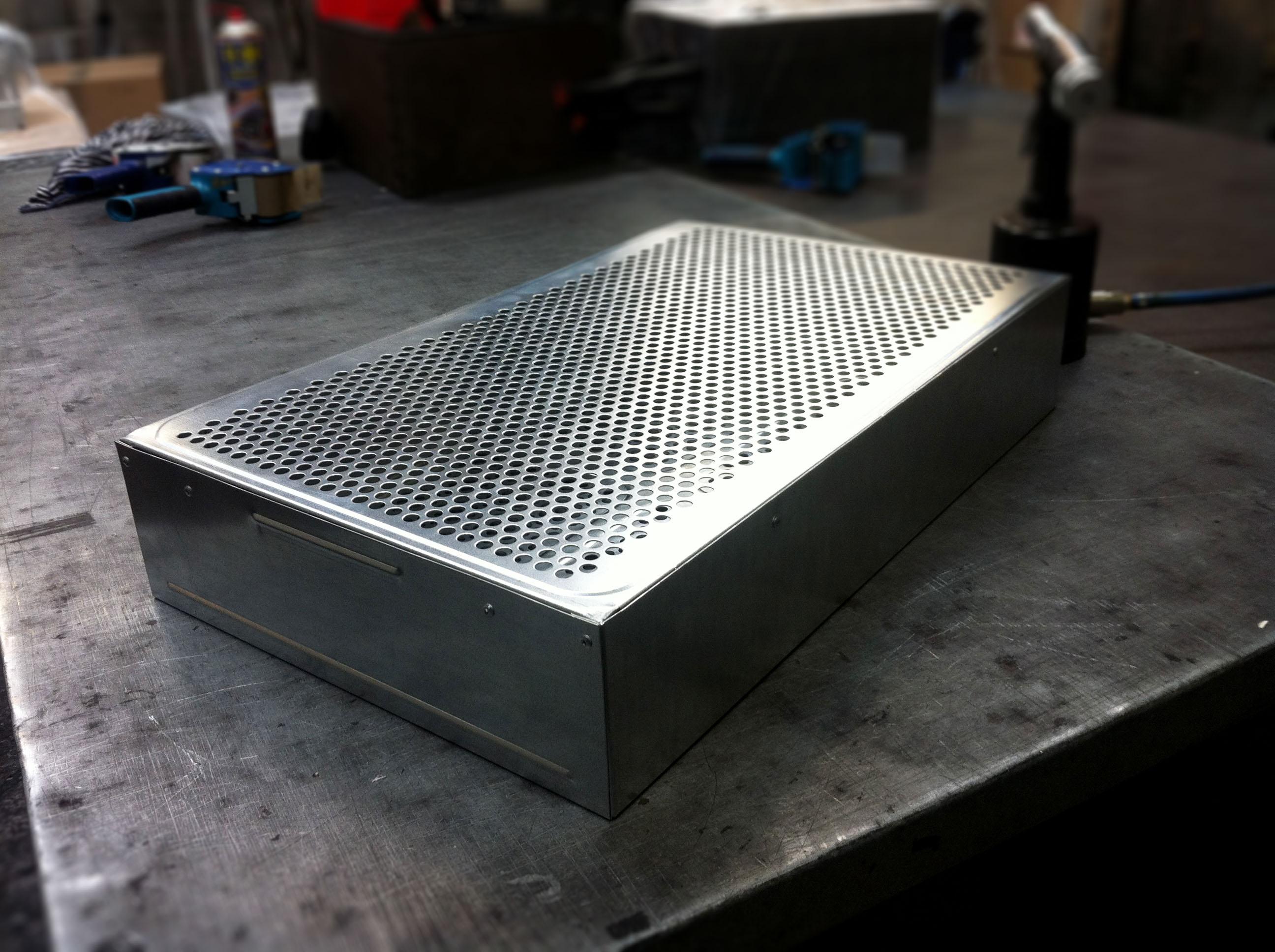 Fume cupboard prototype