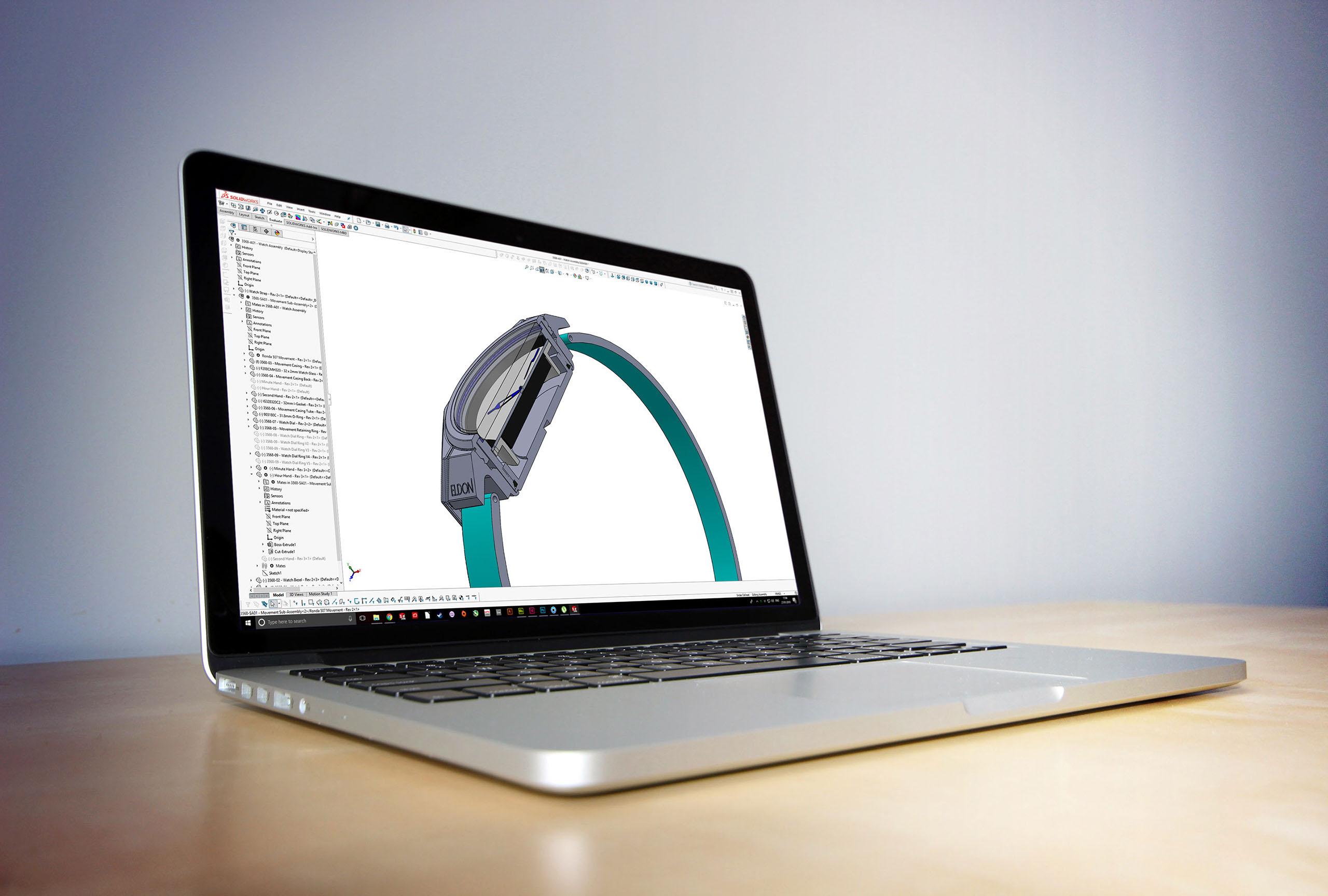 Watch design CAD