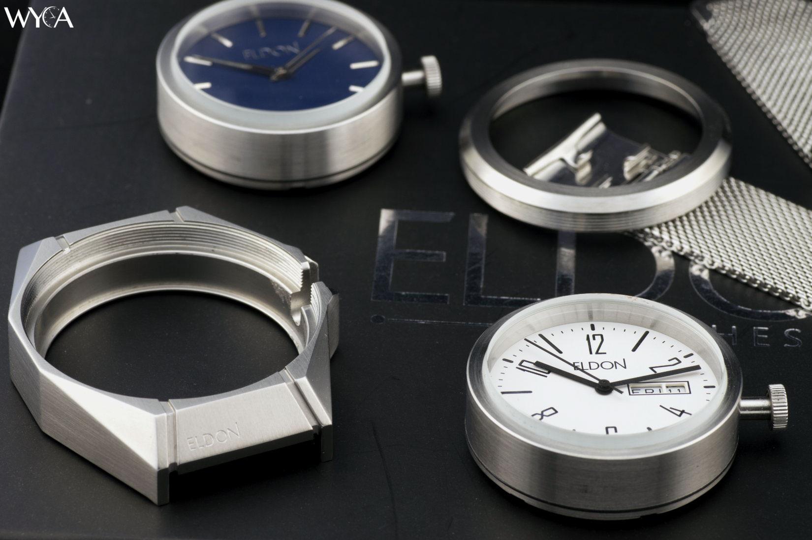 Watch prototype components