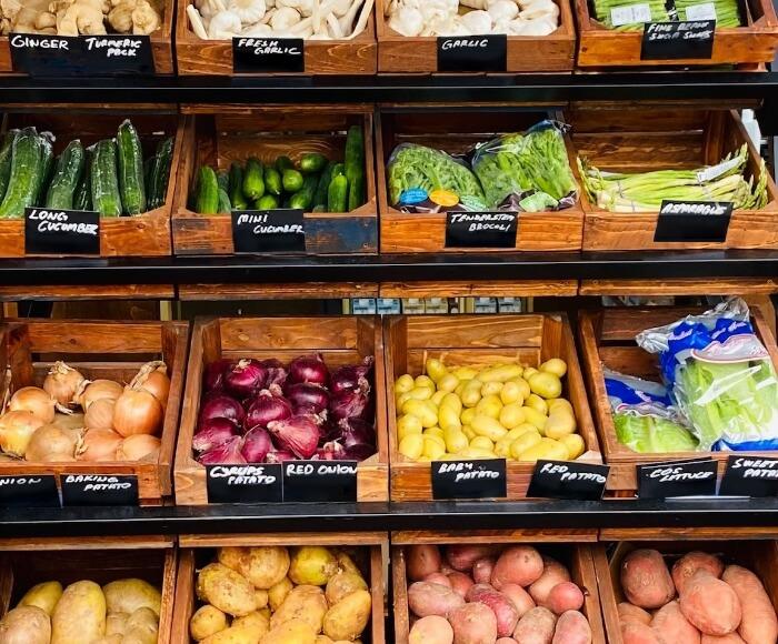 Our surplus food pantry