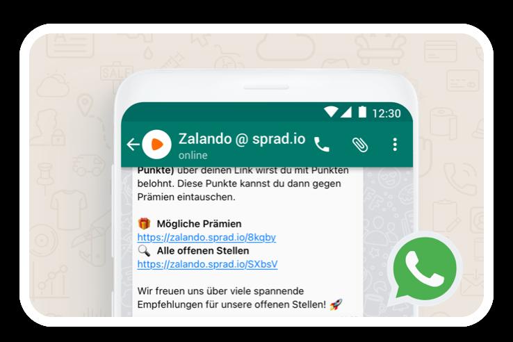 Employee Referral Tool WhatsApp & SMS