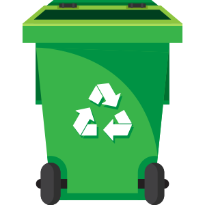 92 gallon trash