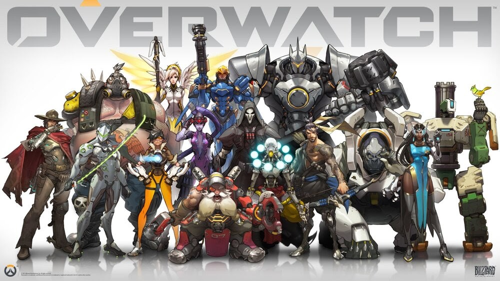 The OG Crew before all those newcomers jumped into the roster. My mains were Pharah, Mercy, Junkrat and Attack Torbjorn. Yeah, ATTACK TORB.