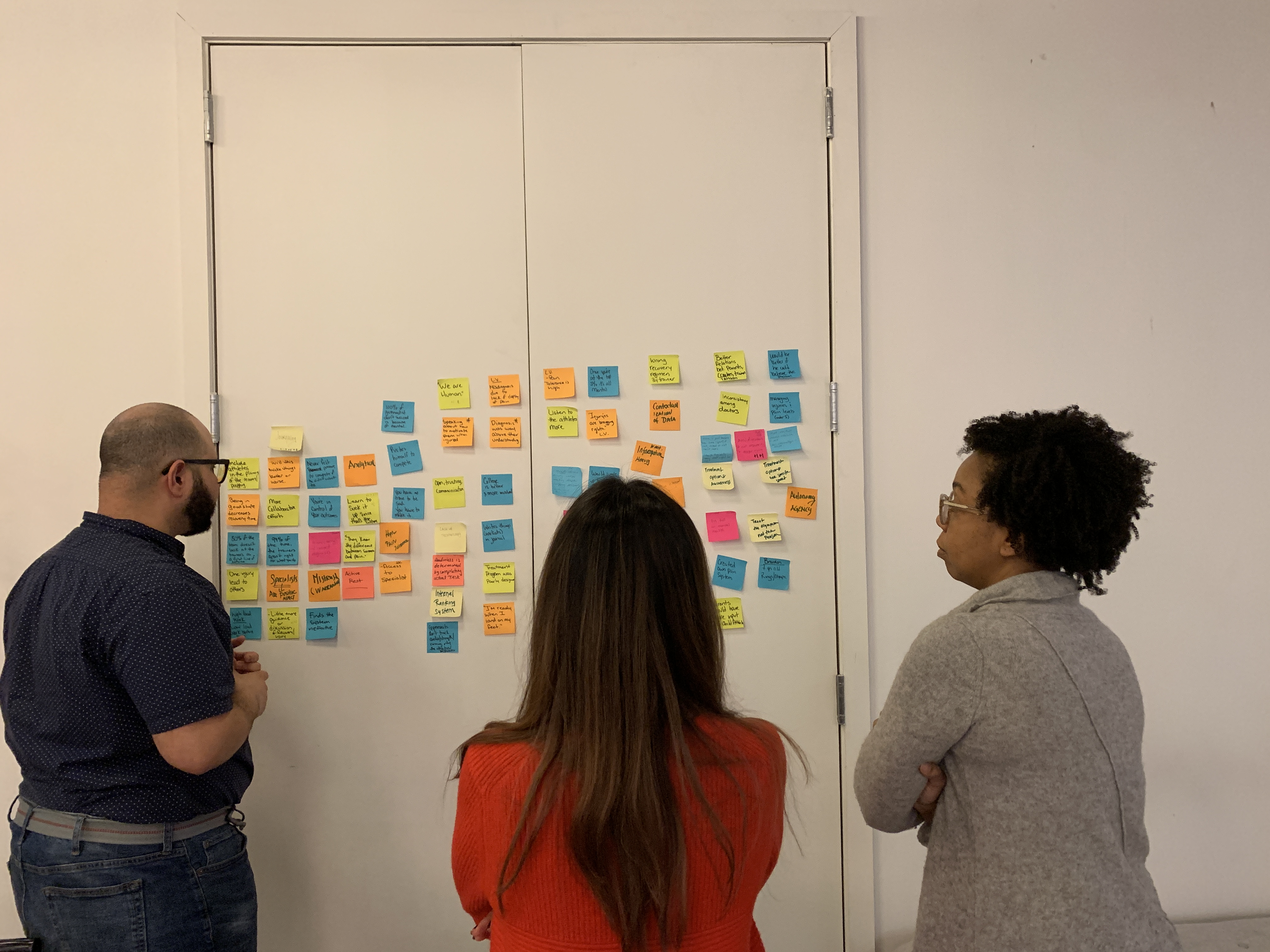 Group Affinity Mapping