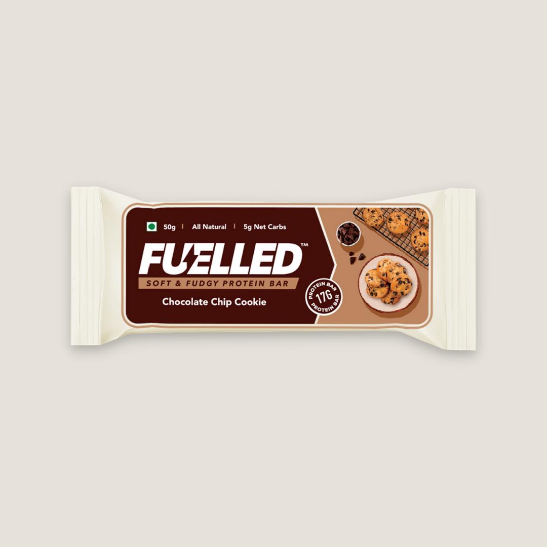 Fuelled Chocolate Chip Cookie Protein Bar