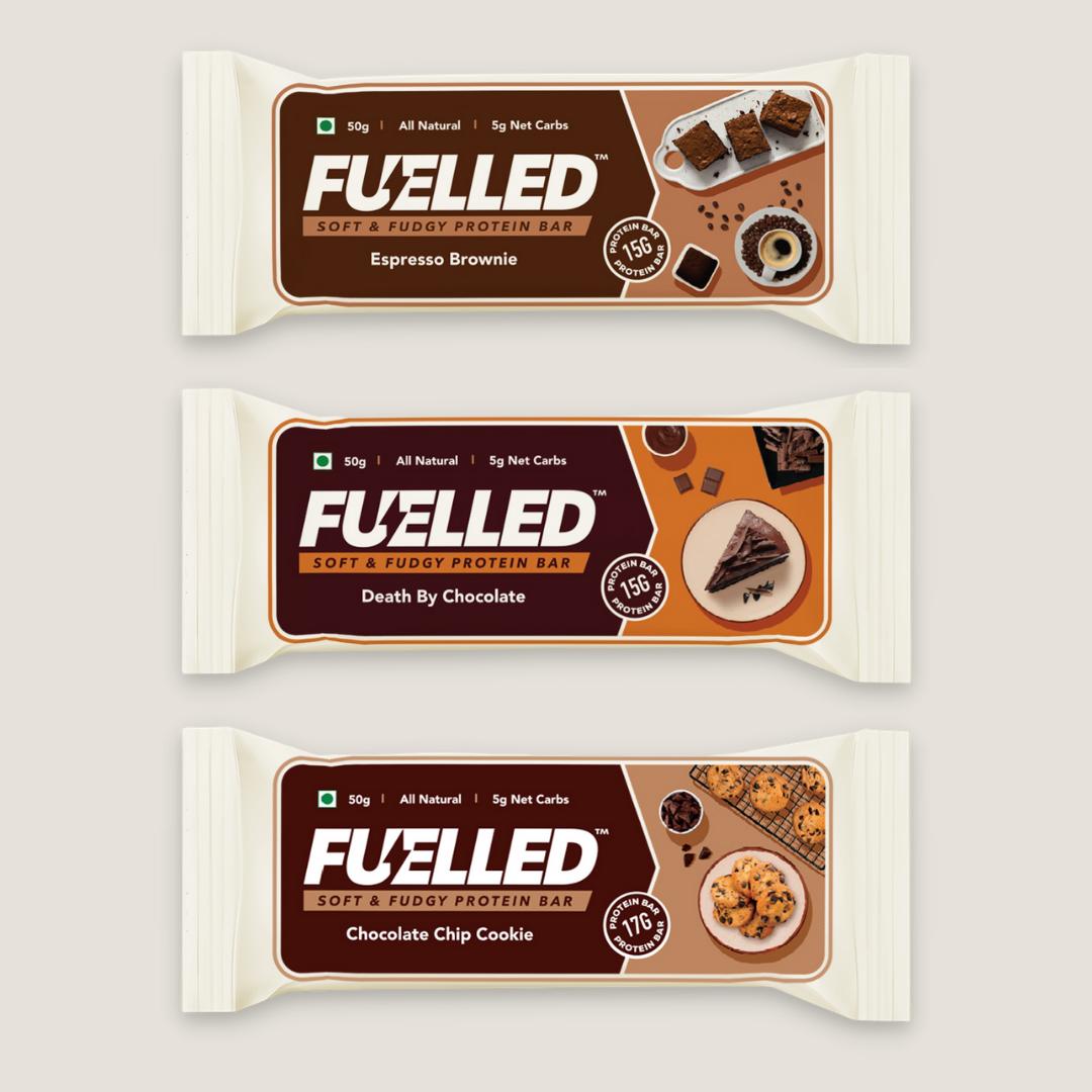 Fuelled Protein Bars Starter Pack