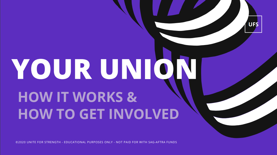 Your Union: How It Works and How To Get Involved. Click to Download.