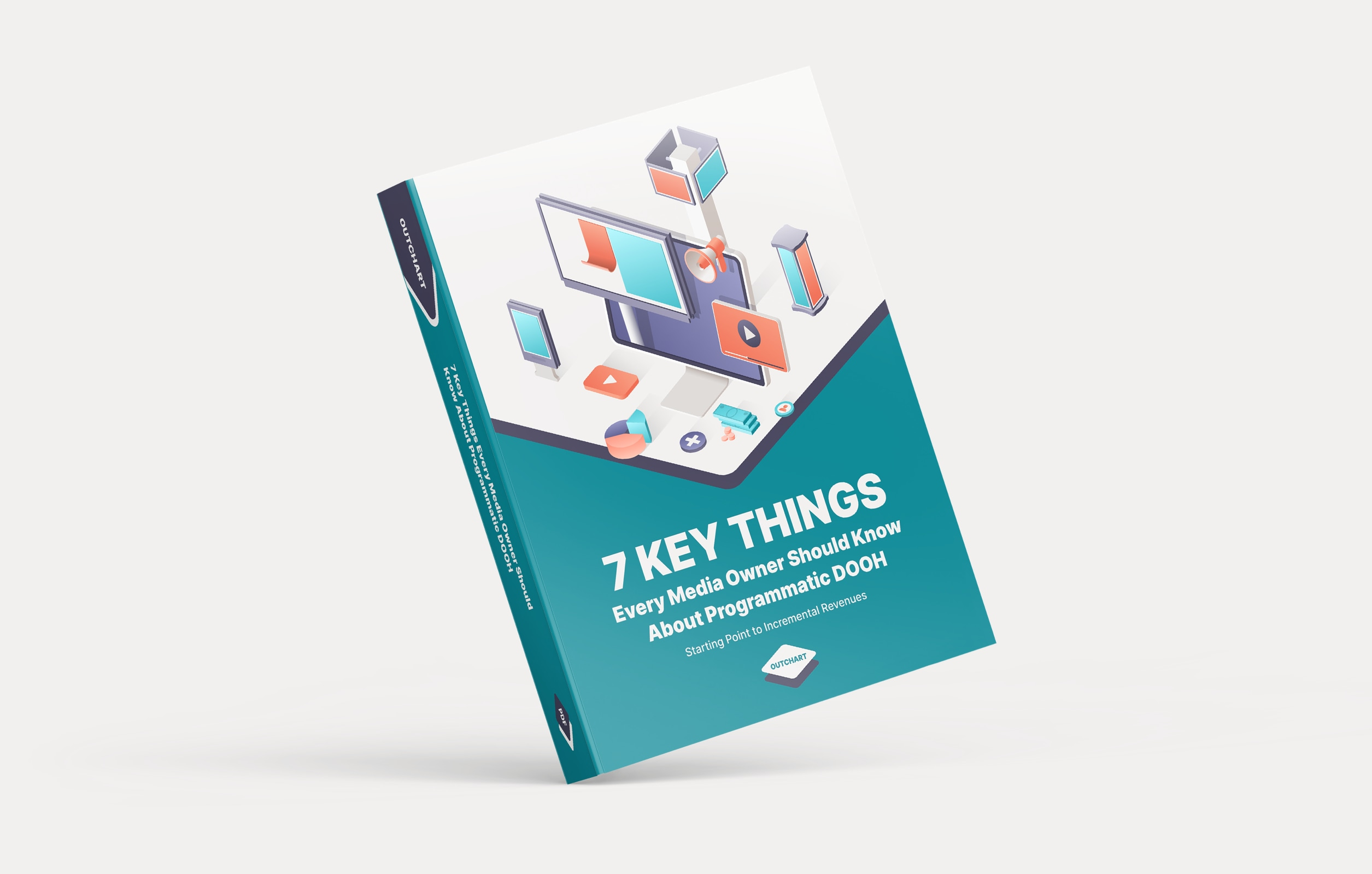 Outchart Book «7 Key Things Every Media OwnerShould Know About Programmatic DOOH»