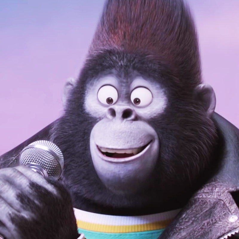 A picture of Johnny the Gorilla from Sing