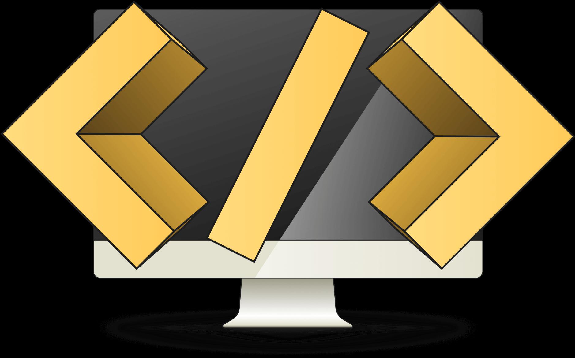 Software Development hero image - monitor