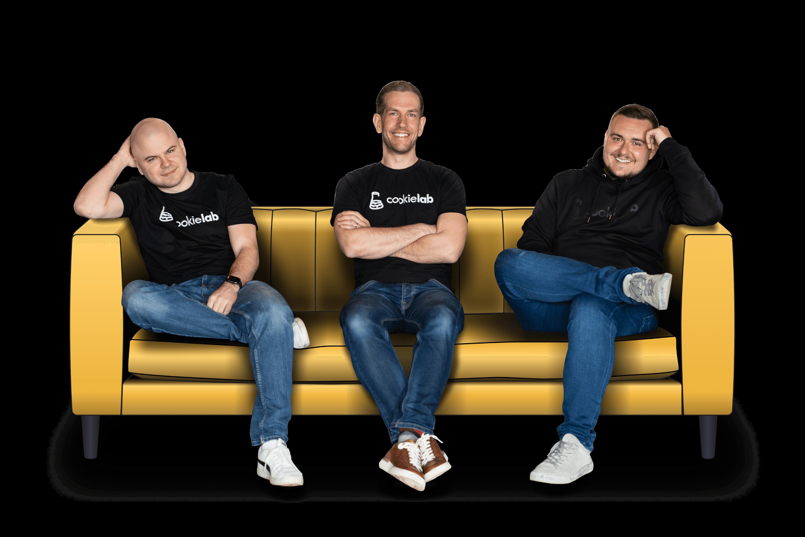 Martin Homolka, Radek Míka, Jakub Kohout - CO-Fouonders