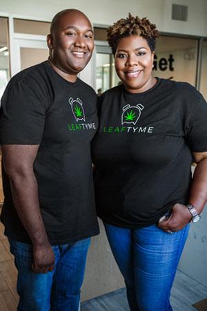 Jilea Hemmings Co-Founder of Leaf Tyme