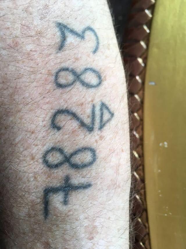 78283 Auschwitz tattoo