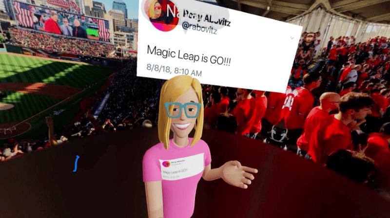 Navah Berg in the VR World
