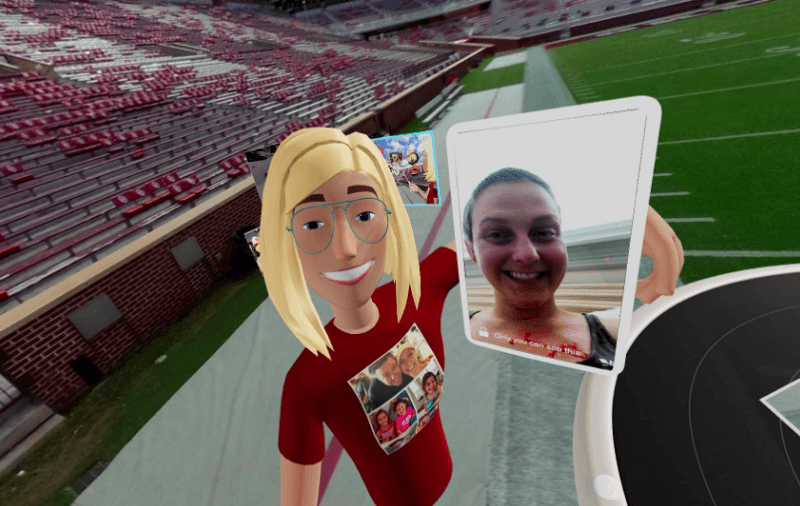 Navah Berg with Tara Gustman in VR