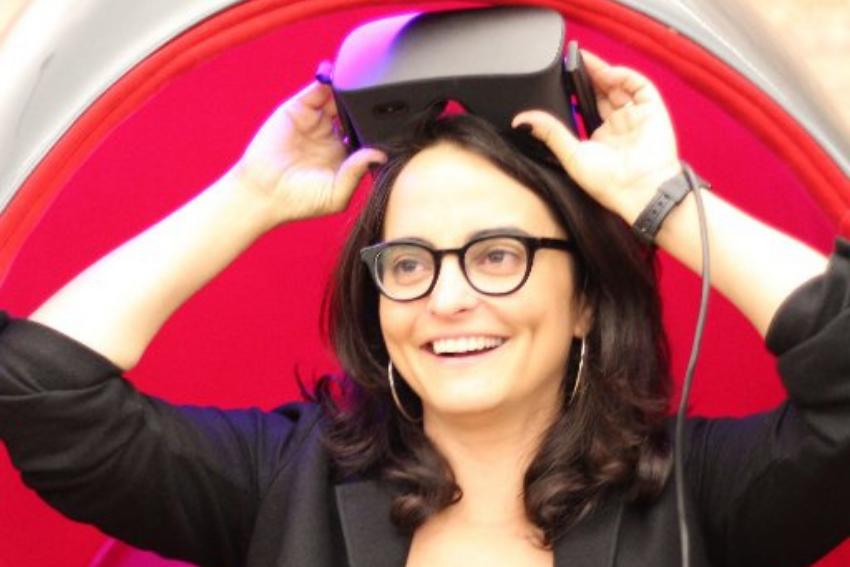 360 Video Queen, Samantha Wolfe, Embraces Emerging Tech