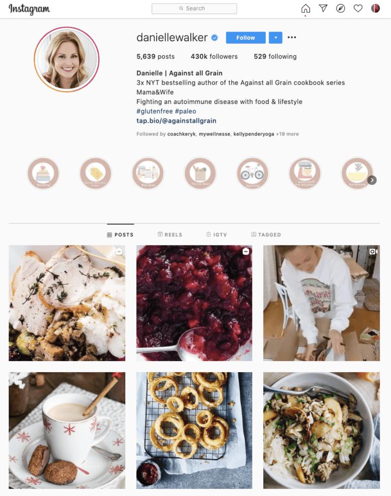 Danielle Walker Instagram