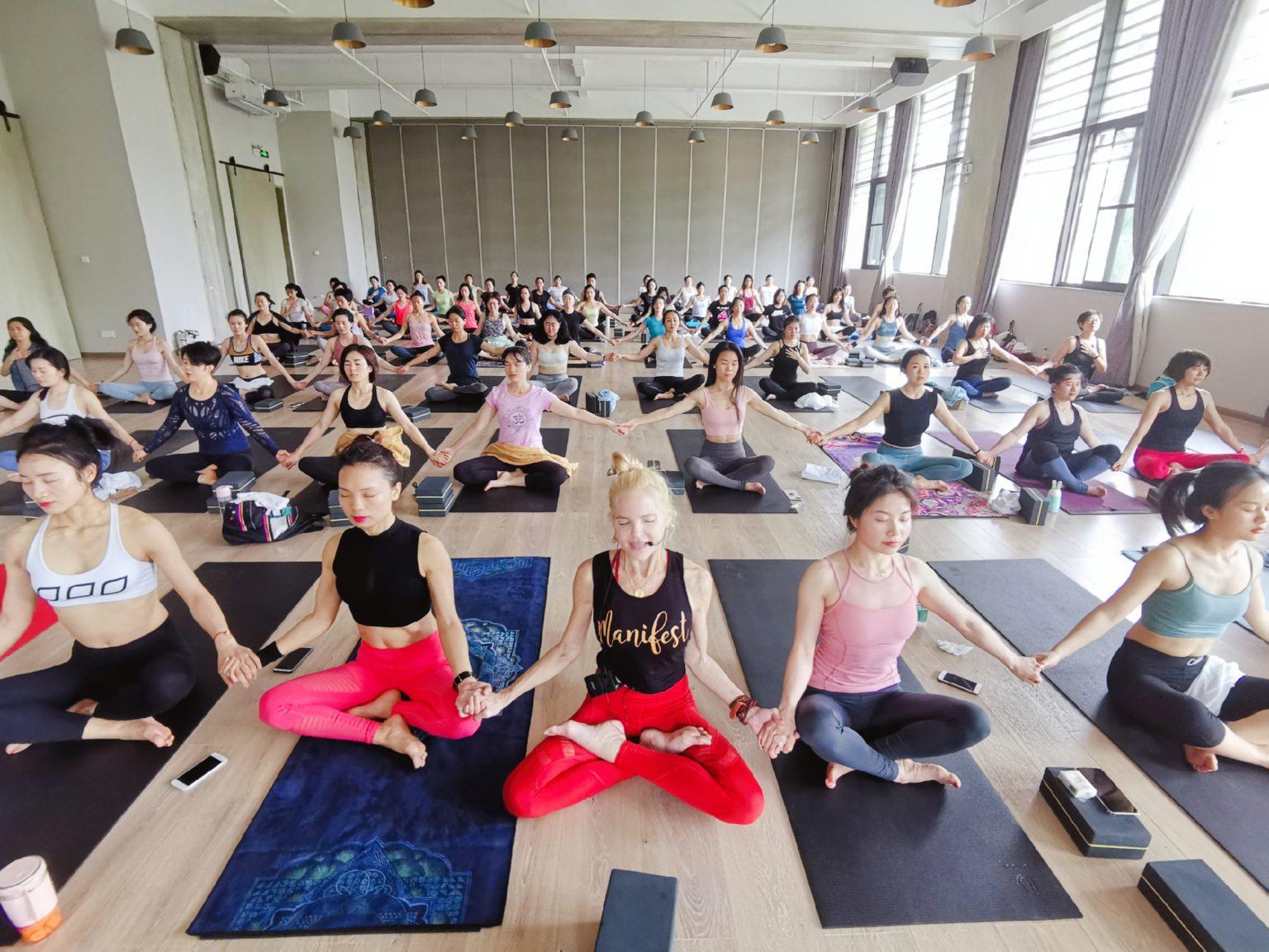 Tymi Howard Yoga Class
