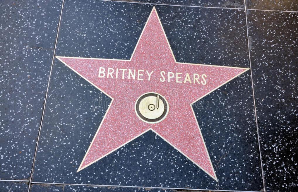 Britney Spears Hollywood Star