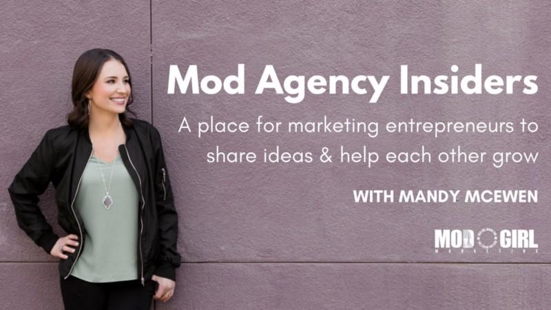 Mod Agency Insiders FB Group