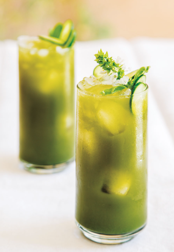 Tropical Green CBD Drink