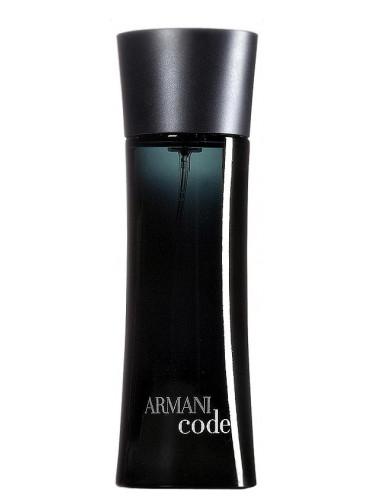 frasco de armani code