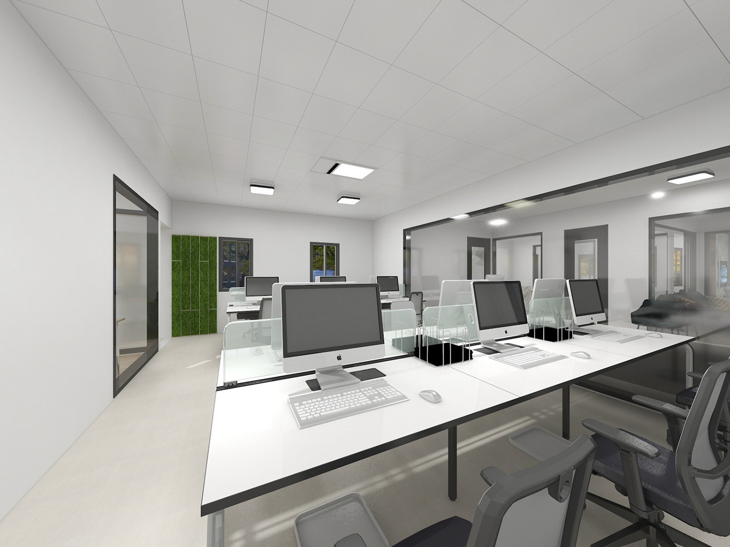 Corporate Office Fit out in Nigeria