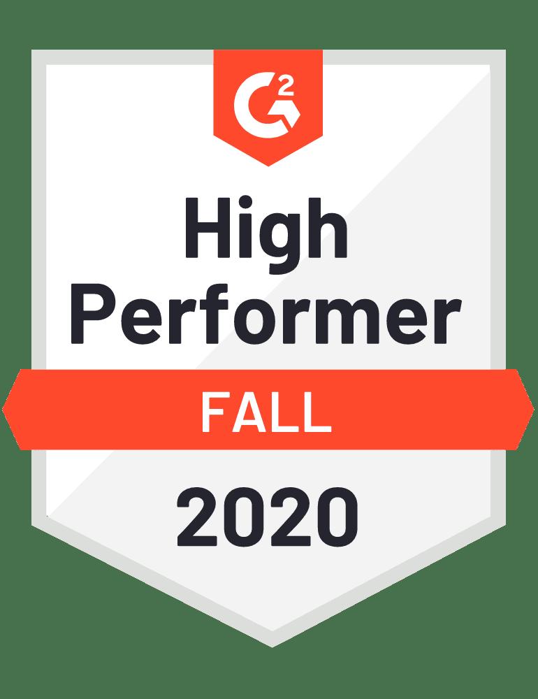 Push - High performer of fall 2020