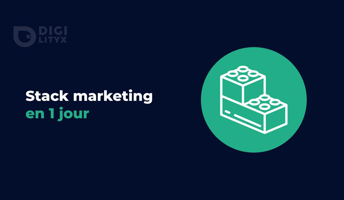 Growth Hacking et Stack Marketing : découvrez comment nous avons connectés et mis en place l'intégralité de nos outils en seulement 1 jour.