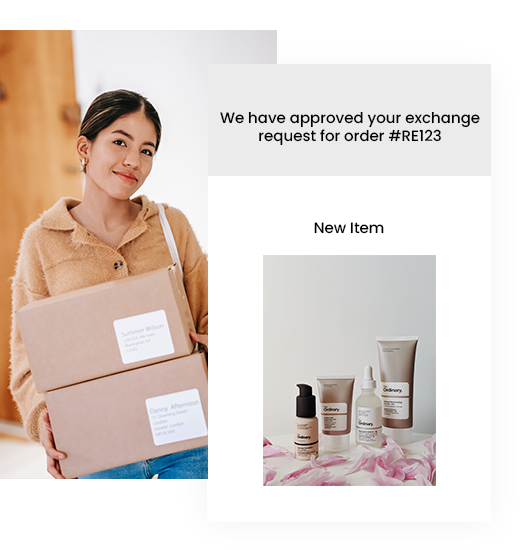 Easy product exchange with Return Prime