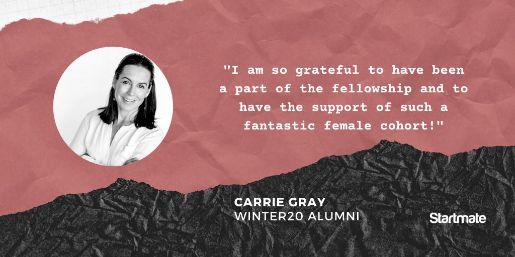 Carrie Gray, Winter20 Fellow