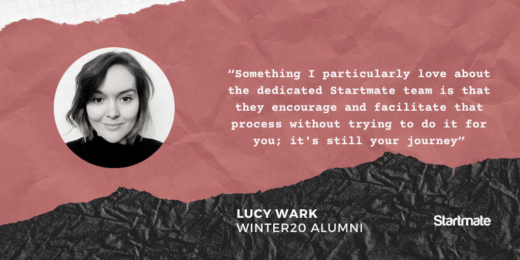 Stories from The Fellowship - Lucy Wark, Winter20 Fellow