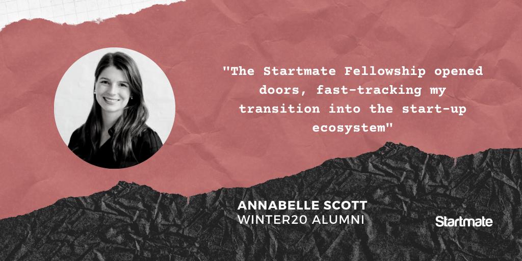 Annabelle Scott, Winter20 Fellow