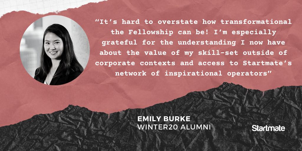 Emily Burke, Winter20 Fellow