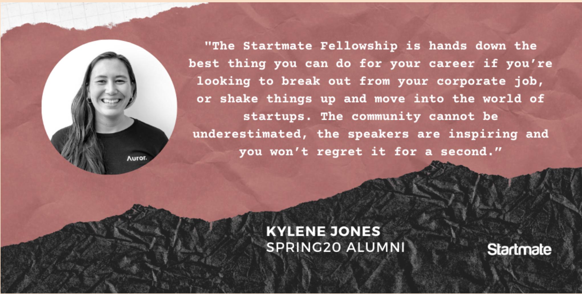 Kylene Jones, Spring20 Fellow
