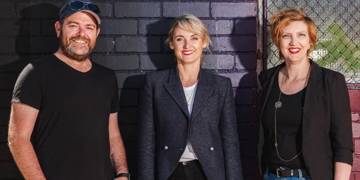 Tractor Ventures co-founders Matt Allen, Jodie Imam and Aprill Allen